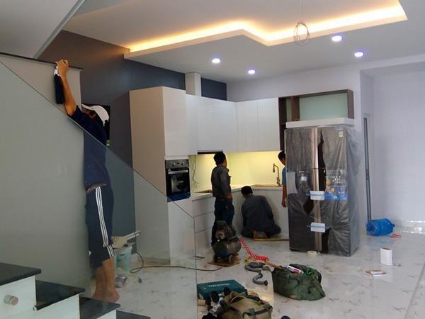 sơn sửa lại căn hộ chung cư tại tphcm