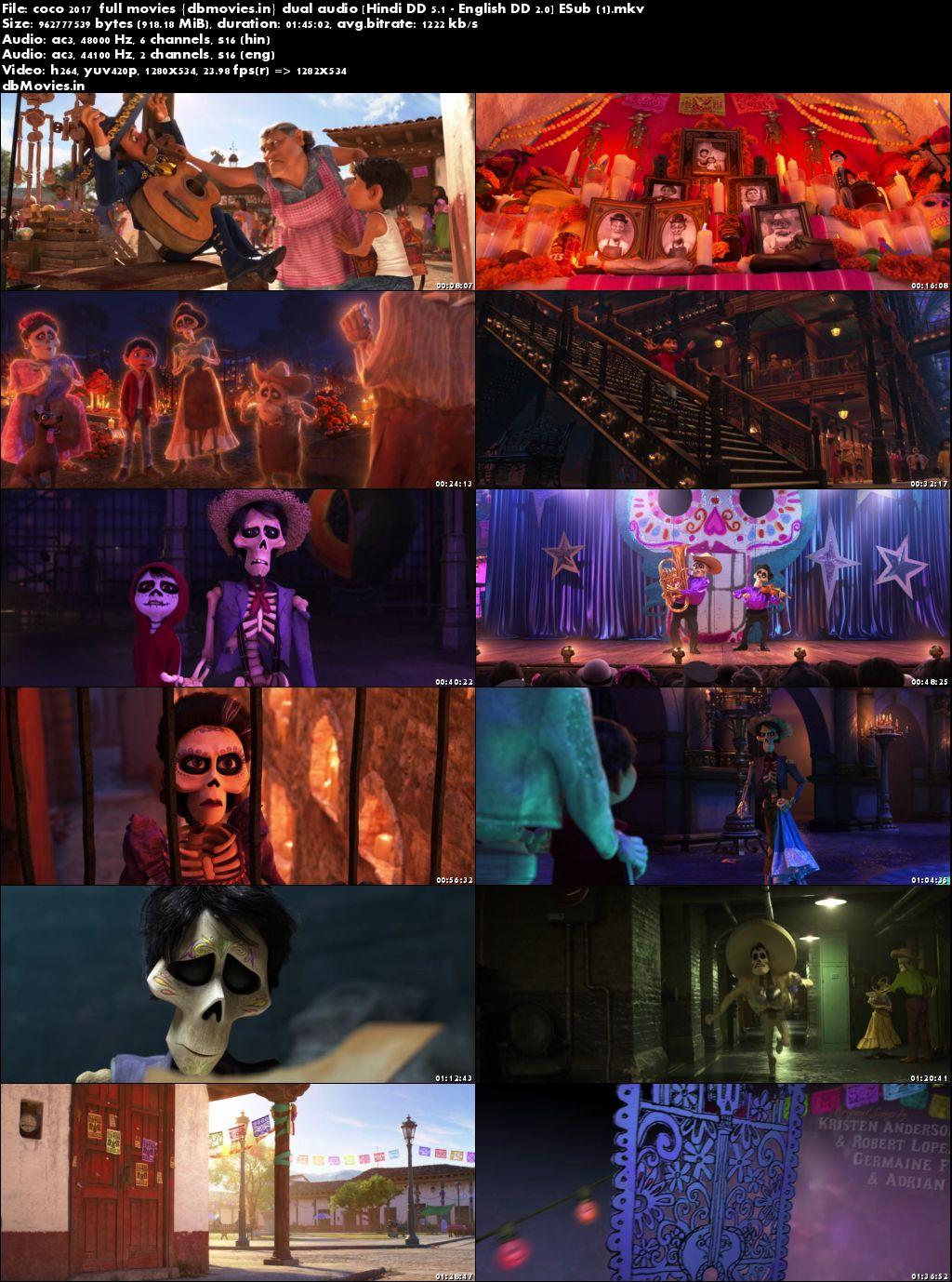 screen shot  Coco 2017 Full Movies Download Dual Audio Hindi 720p