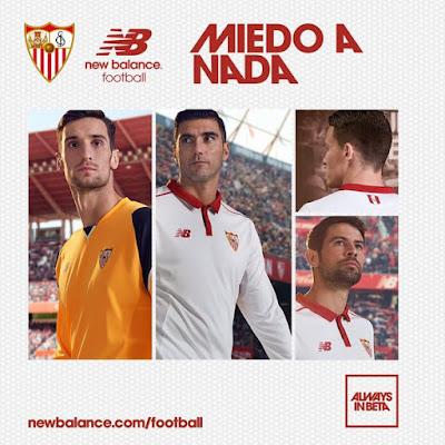 Camiseta New Balance del Sevilla FC 2016-2017