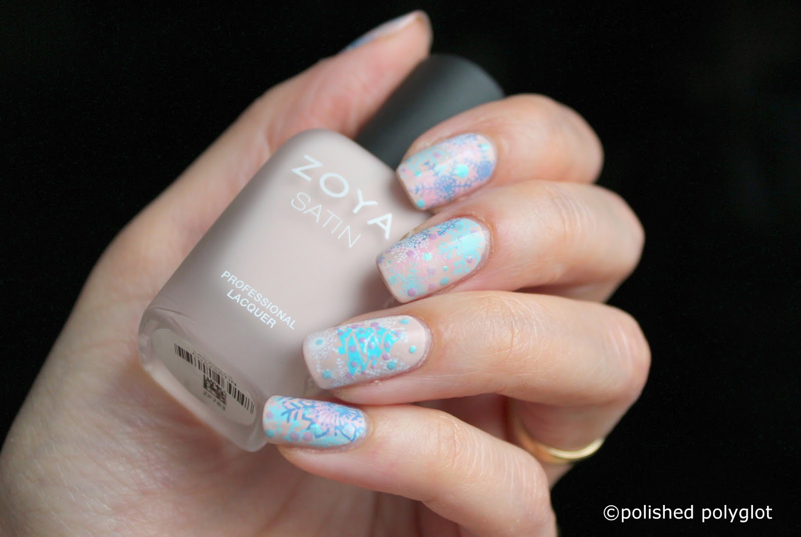 Nail art pastel christmans nail design 26gnai polished polyglot i really like the result because it is so original and unexpected i hope you have liked my design for today also dont forget to pay a visit to all the prinsesfo Choice Image