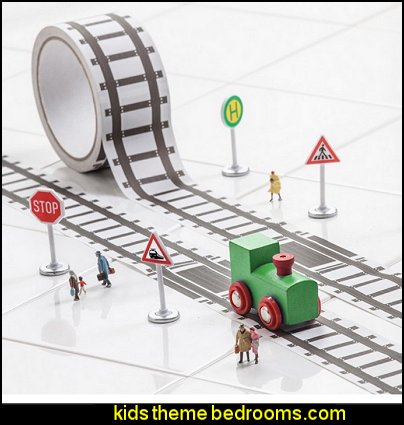 My First Train, Create a Train Set, Track Tape with Toy Train Playset
