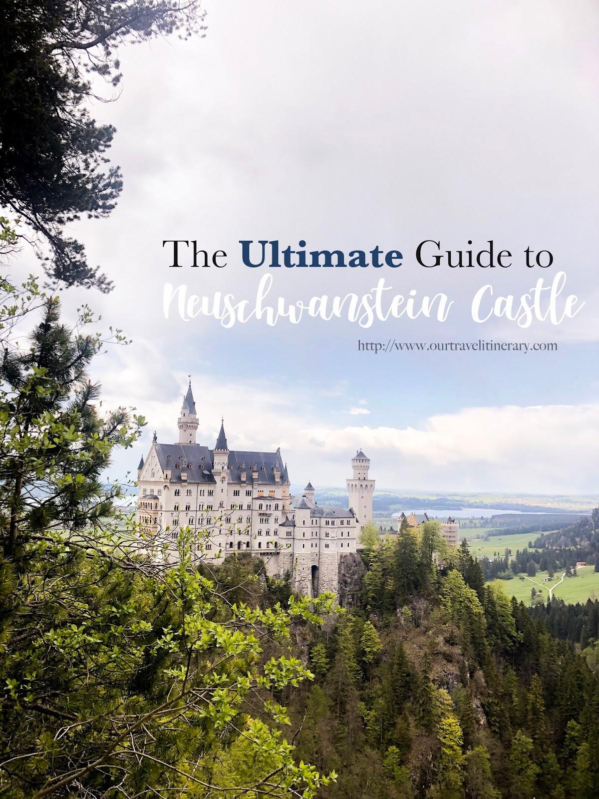 Neuschwanstein Castle , Neuschwanstein Itinerary