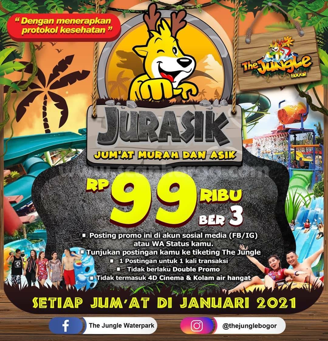 The Jungle Bogor Promo SOSMED! JURASIK (Jum'at Murah Dan Asik) Hanya Rp. 99.000 BER-3