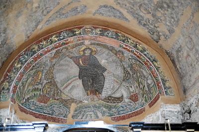 Osios David mosaico