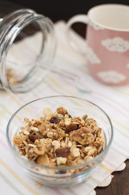 granola casera vertical