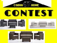 Logo Vinci gratis  un set divanetto( divano 2 posti, 2 poltrone , 1 tavolino e cuscini)