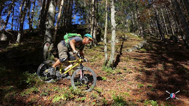Mountainbike Tour Nachbergalm