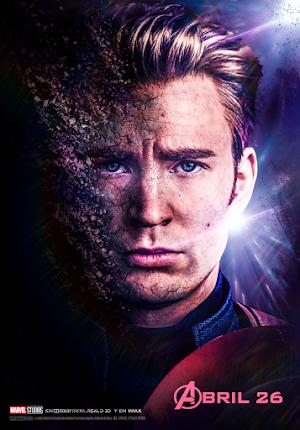 Avengers ENDGAME Poster Captain America (HD 4k)