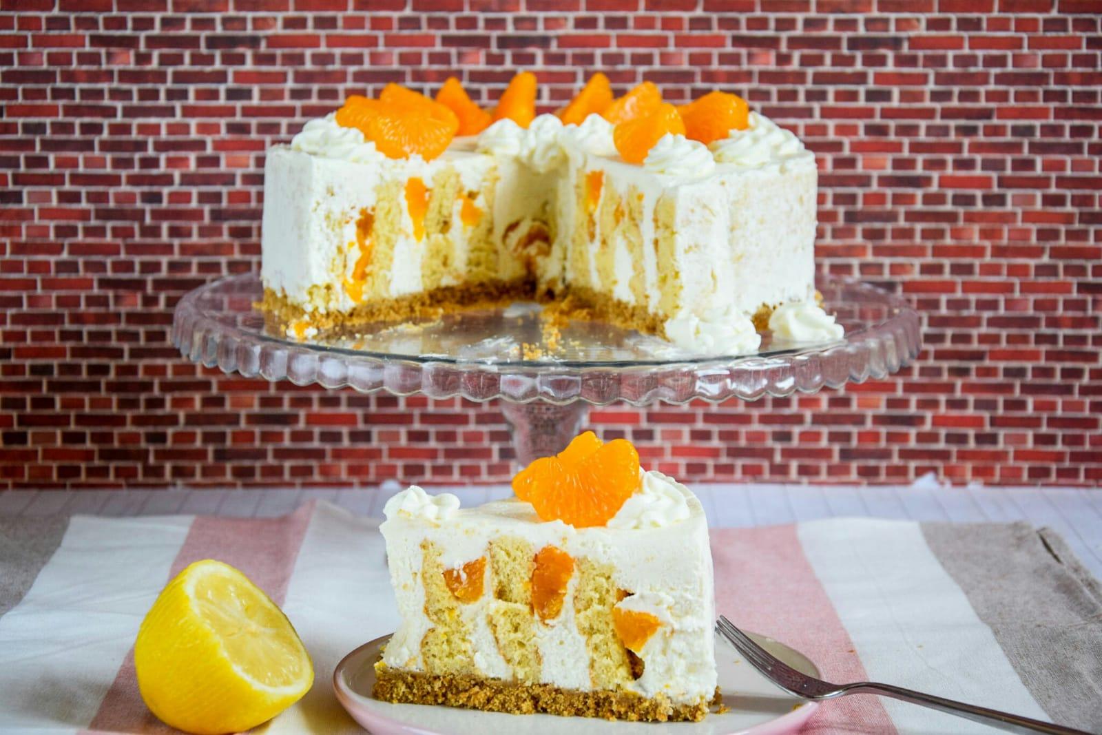Kiras Bakery Kase Sahne Wickeltorte Klassische Kase Sahne Torte
