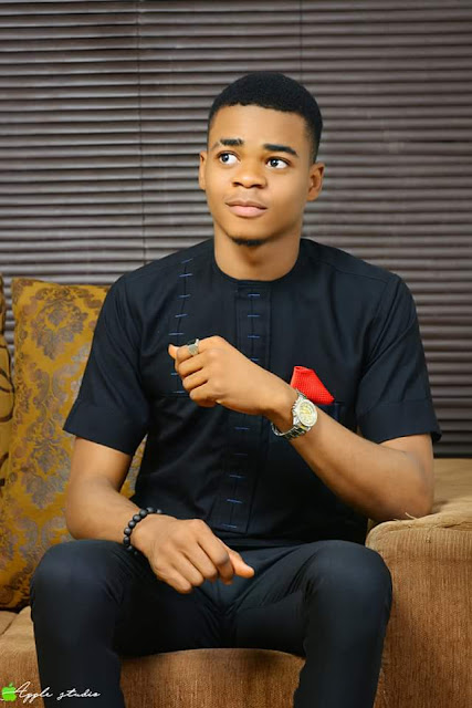 Image result for Handsome young Nigerian man  Prince Arinze Ndibe declares for 2019 presidency