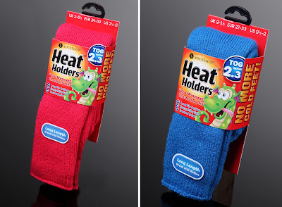 Heat Holders thermal socks for children, children no heel socks, children winter and wellies socks