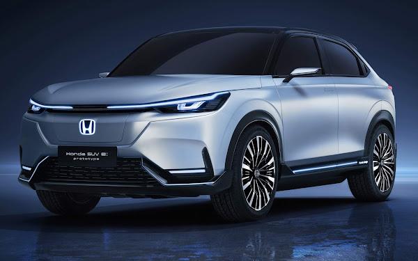 Novo Honda HR-V elétrico apresentado na China como SUV e: prototype