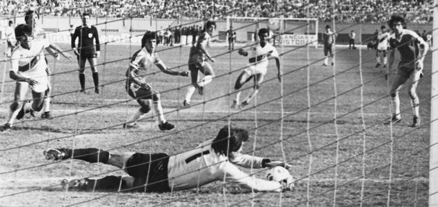Perú y Chile en Clasificatorias a México 1986, 3 de noviembre de 1985