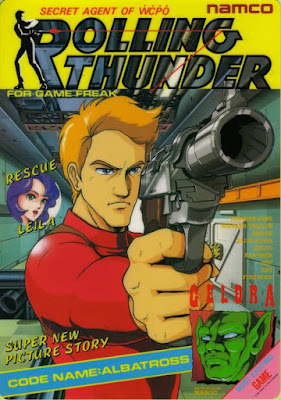 Portada videojuego Rolling Thunder