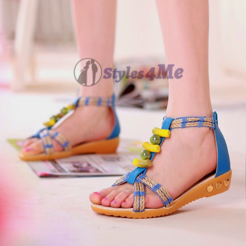 Summer Wear Flat Sandals 2014 For Teen Ages And Young ...