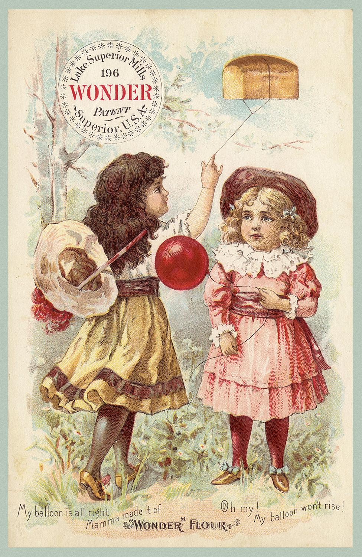 все реклама на старинных открытках уверена, что те