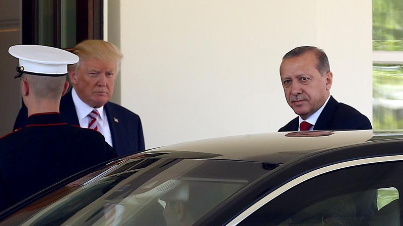 Ο Ερντογάν και το σοκ της Ουάσινγκτον