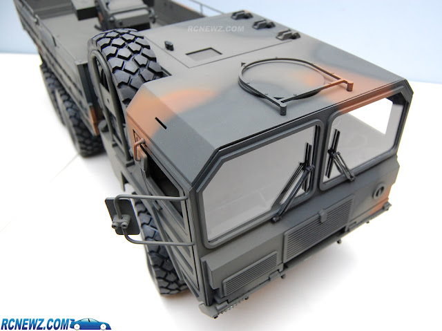 RC4WD Beast 2 6x6 paint