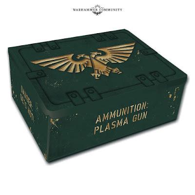 caja hojalata munición de plasma