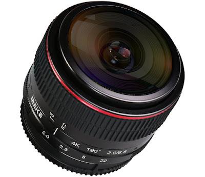 الإعلان عن عدسة عين السمكة الجديدة Meike 6.5mm f/2.0 Fisheye