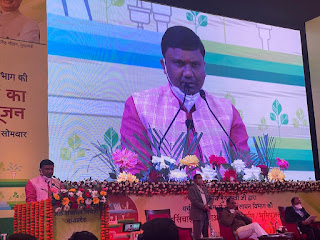 प्रदेश की 50 सिंचाई परियोजनाओं के कार्यक्रम में मुख्यमंत्री श्री चौहान एवं राज्यमंत्री कावरे भी हुए शामिल