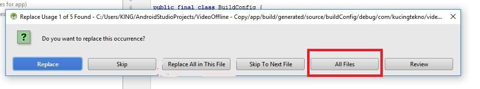 Cara Mengubah Package Name di Android Studio Tanpa Error
