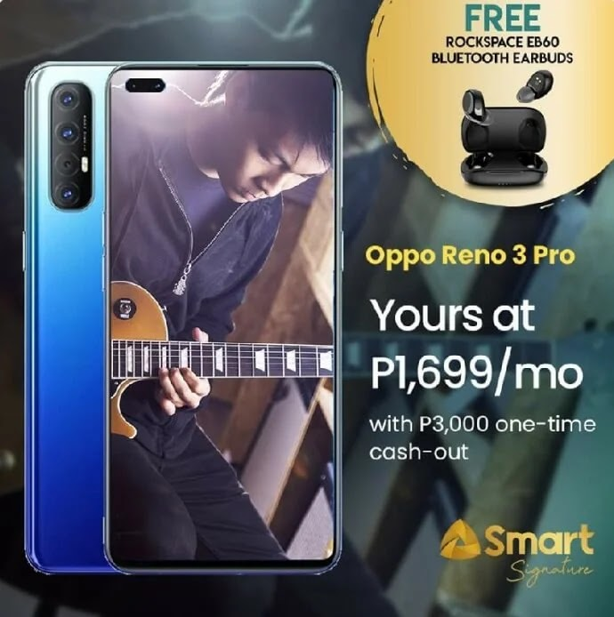 OPPO Reno3 Pro Now Offered at Smart Postpaid