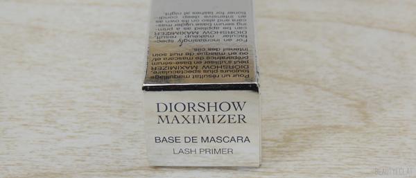 revue avis test diorshow maximizer dior mascara blanc