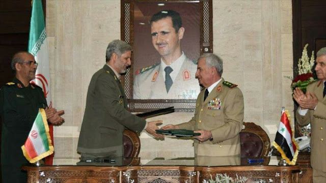 Irán y Siria acuerdan impulsar cooperaciones para la paz regional