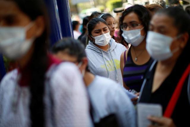 Suben a 5,847 los casos positivos de Covid-19 y 449 las muertes en México
