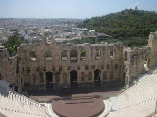 Odeon Of Herodes Atticus At The Acrocpolis