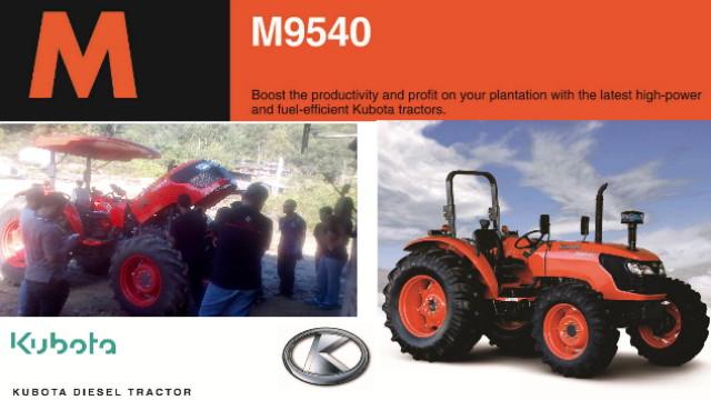 Spesifikasi Tractor Kubota M-series M8540 Dan M9540