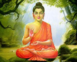 Il Buddha arrabbiato con la donna che invocava il suo nome