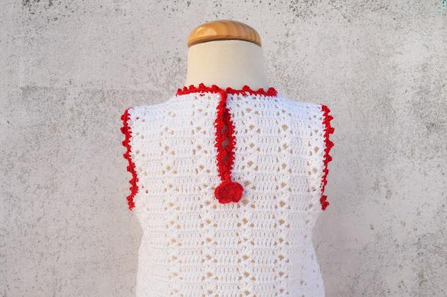 2 -Crochet Imagenes Sencillo vestido verano a crochet y ganchillo por Majovel Crochet