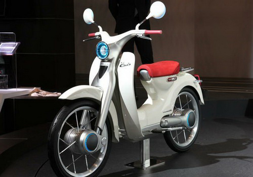 Tinuku.com Honda EV-CUB electric motorcycle scheduled to Indonesia in 2018