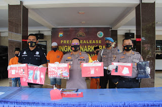 Tim Kuro Satnarkoba Polres Lumajang Ungkap 6 Pelaku Sabu dan Okerbaya