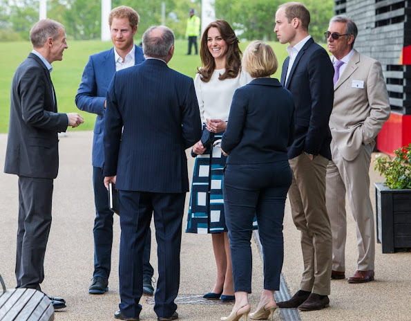 Kate Middleton, Prince William, and Prince Harry attend the official launch of Heads Together