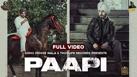 Paapi Lyrics - Rangerz Sidhu, Sidhu Moose Wala