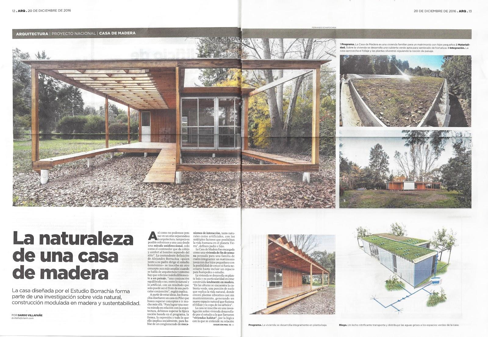 Estudios para el habita r t la casa de madera nota de - La casa de madera ...
