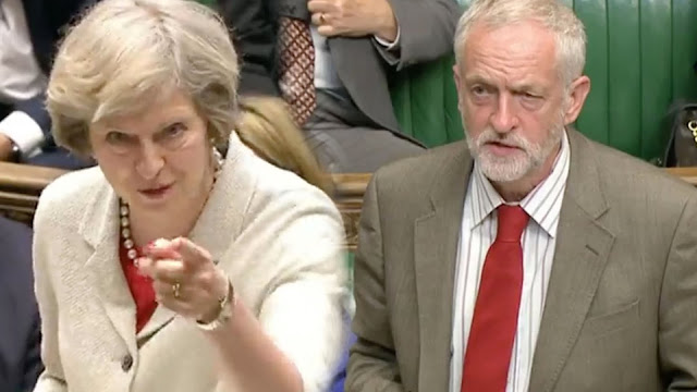 Theresa May vs Jeremy Corbyn