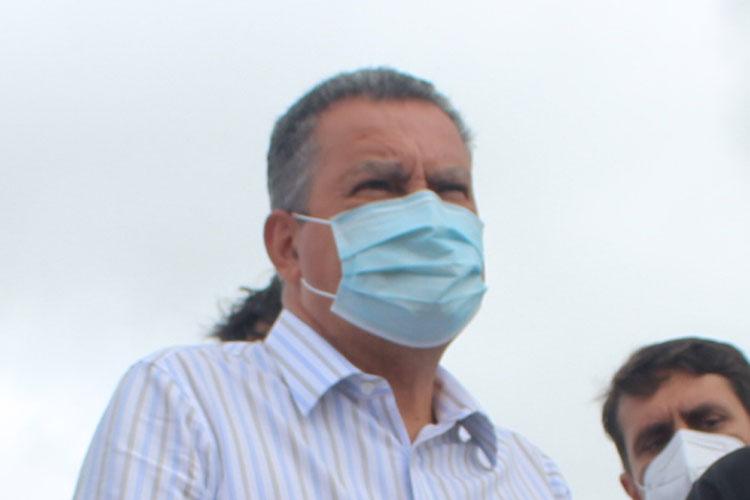 O governador da Bahia, Rui Costa (PT), demonstrou preocupação com a situação da pandemia no estado.