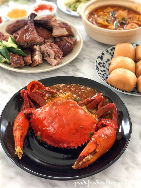 Golden Valley KL chilli crabs delivery