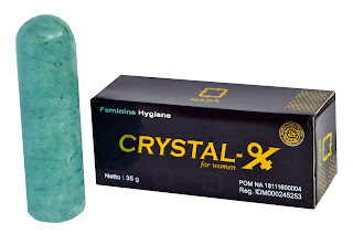Crystal X Resmi Distributor PT.NASA