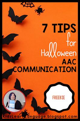halloween communication board