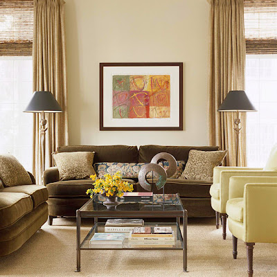 Modern Furniture Fresh Living Rooms Decorating Ideas 2011