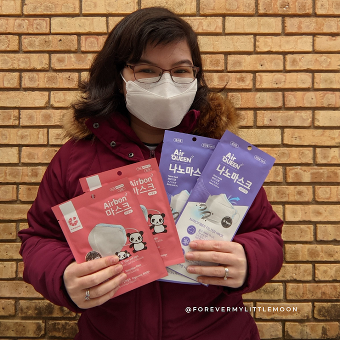 AirQueen Nanofiber Mask Stocking Stuffer Giveaway & Review