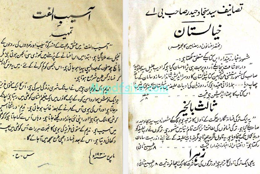 aaseb-e-ulfat-aik-turkey-afsana book