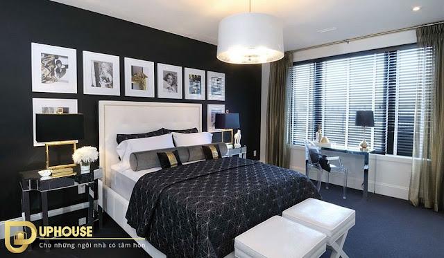 Phòng ngủ màu đen 05