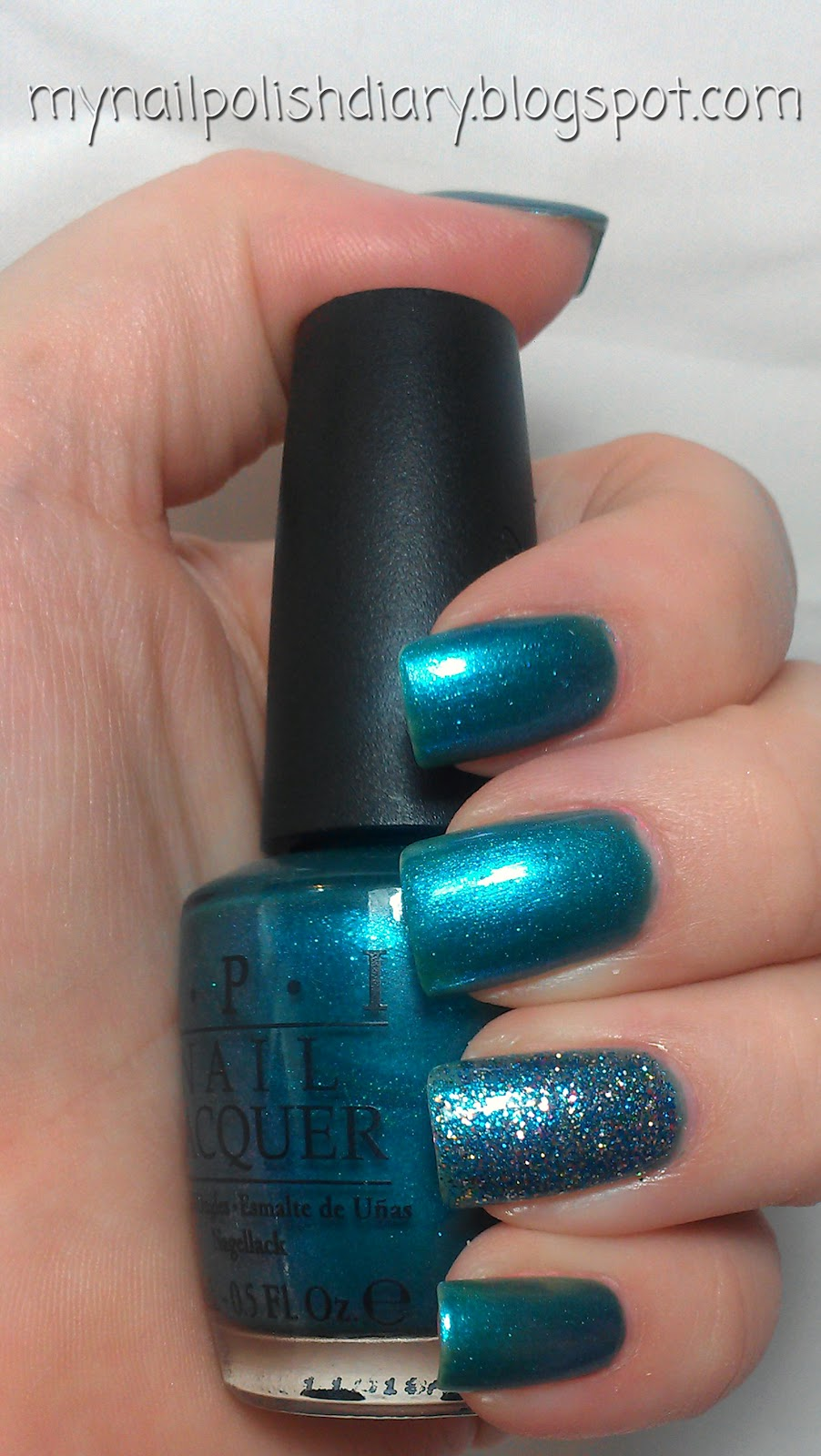 My Nail Polish Obsession My Birthday Nails: My Nail Polish Diary: OPI Austin-tatious Turquoise And OPI