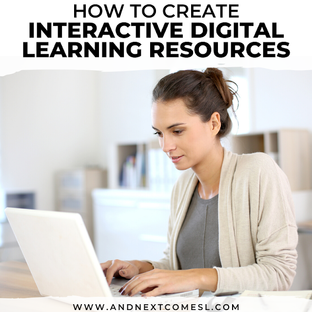 How to create digital learning resources